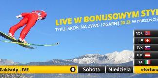 Fortuna z bonusem na Puchar Świata w Zakopanem!