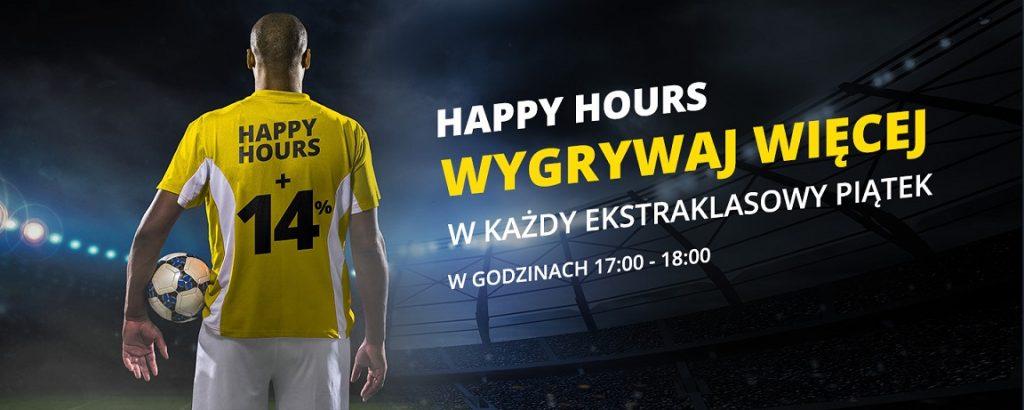"""Promocja """"Happy Hours"""" na Ekstraklasę!"""