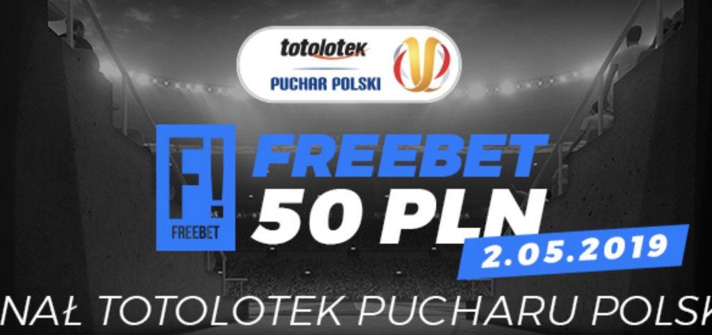 Totolotek Puchar Polski. Freebet 50 PLN na obstawianie!