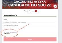 Betclic kod promocyjny. 500 PLN na początek!