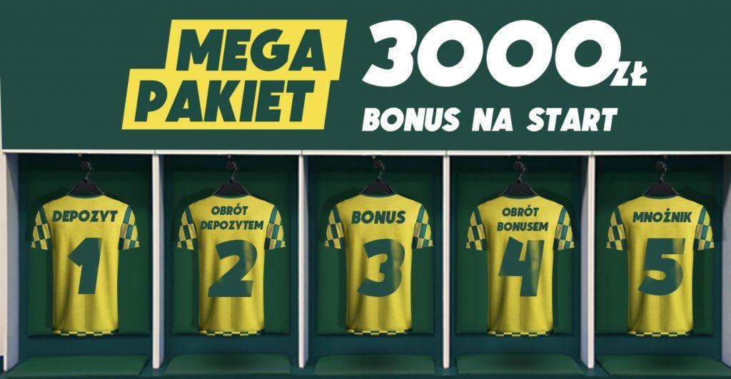Betfan nowym graczom daje 3000 złotych na obstawianie!